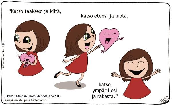 Published in Meidän Suomi Magazine