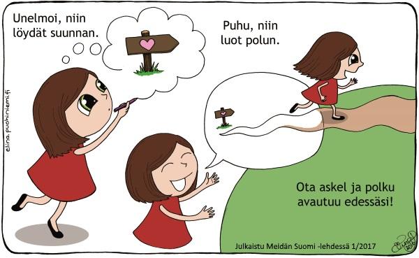 Mira(cle)Doodles - Meidän Suomi - Elina Puohiniemi
