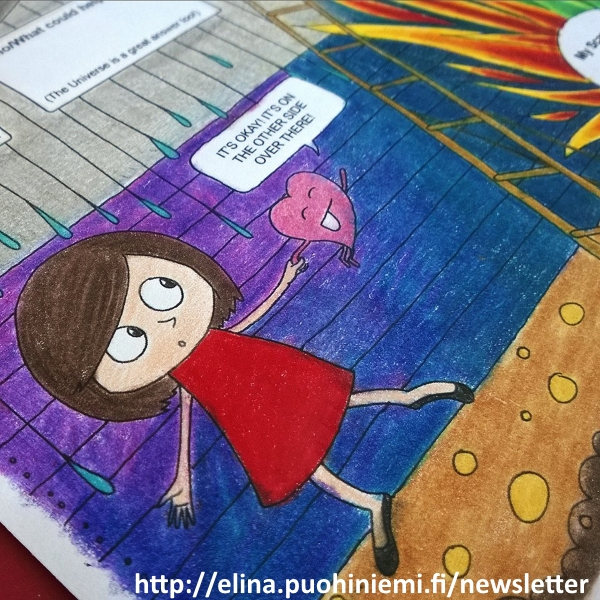 A Mira(cle) Monday Newsletter Coloring Exercise