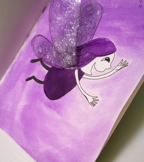 Daily Doodling – It's Time to Shine & Fly!