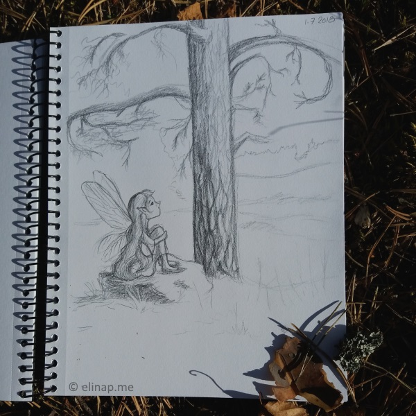 Daily Doodling in the Nature Has Begun!