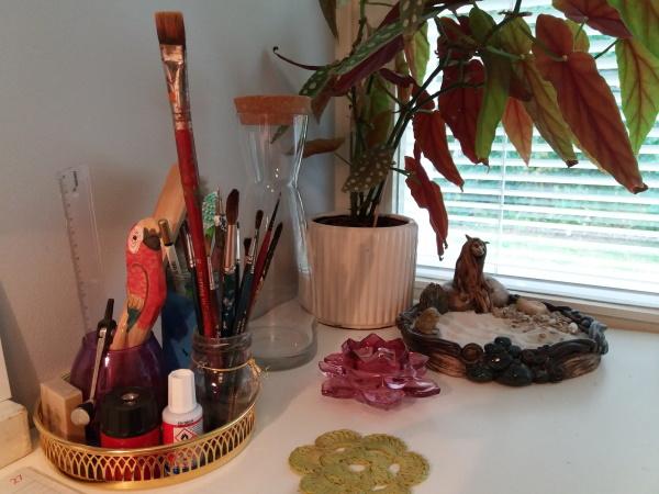 Sharing My Studio