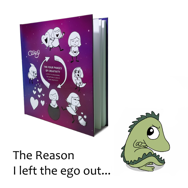 The Reason I left the ego out…